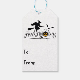 HAPPY HALLOWEEN GIFT TAGS PACK OF GIFT TAGS