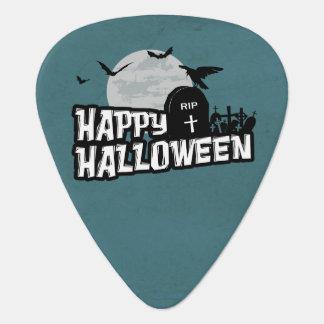 Happy Halloween Guitar Pick