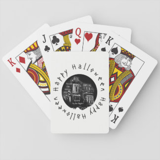 Happy Halloween -Haunted House Playing Cards