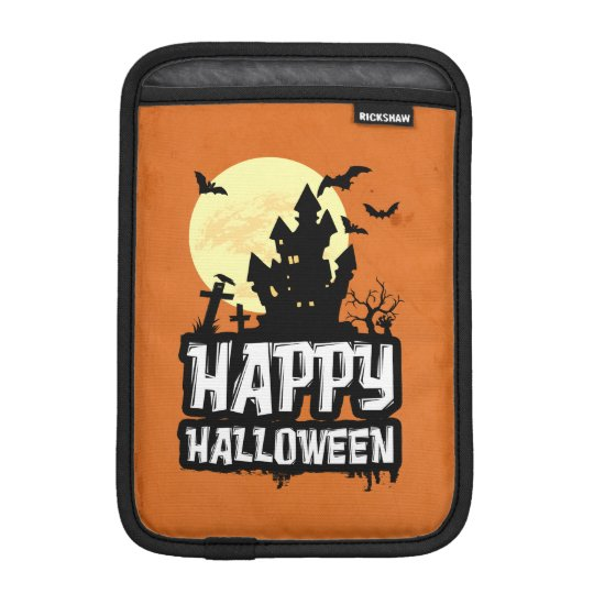Happy Halloween iPad Mini Sleeve