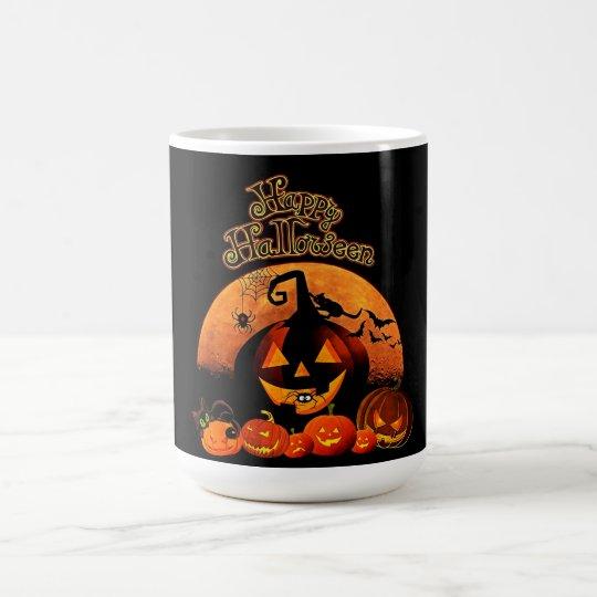 Happy Halloween Jack-o-lantern Coffee Mug