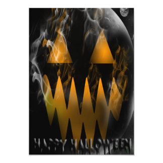 Happy Halloween Jack O Lantern Party Invitation