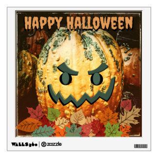Happy Halloween Jack-o-Lantern Pumpkin Decal