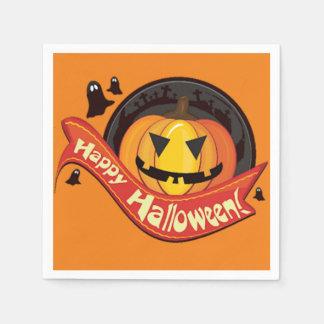 Happy Halloween Jack Paper Napkin