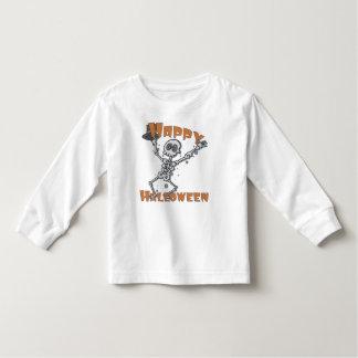 Happy Halloween Kids Skeleton Toddler T-shirt