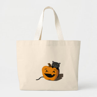 Happy Halloween! Large Tote Bag