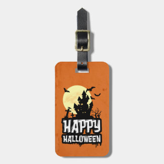 Happy Halloween Luggage Tag