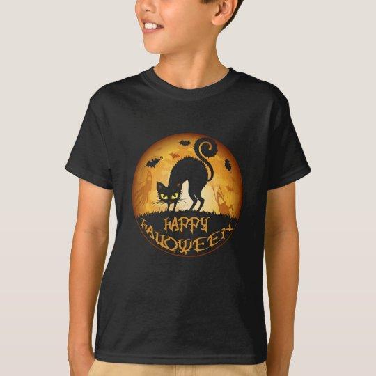 Happy Halloween Meow Cat Kids' Hanes T-Shirt