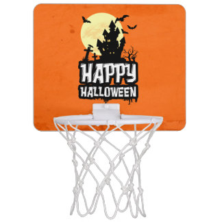 Happy Halloween Mini Basketball Hoop