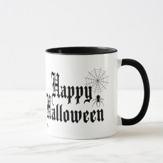 Happy Halloween minimalist typography Mug