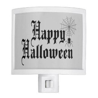 Happy Halloween minimalist typography Night Lights