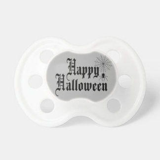 Happy Halloween minimalist typography Pacifier