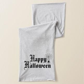 Happy Halloween minimalist typography Scarf