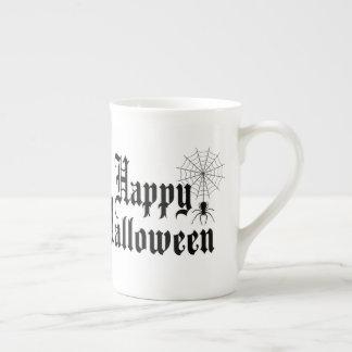 Happy Halloween minimalist typography Tea Cup
