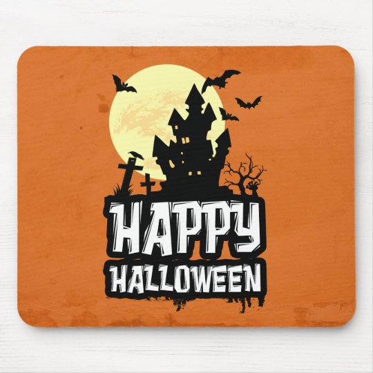 Happy Halloween Mouse Pad