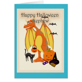 Happy Halloween Nephew Card