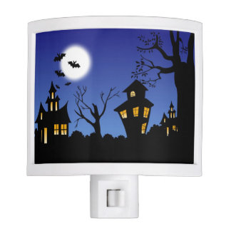 Happy Halloween Night Nite Light