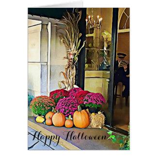 Happy Halloween NYC Pumpkin Display Card