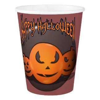 Happy Halloween Paper Cup