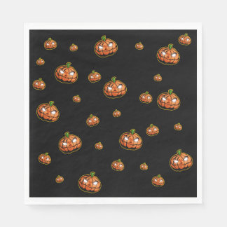 Happy Halloween Paper Napkins