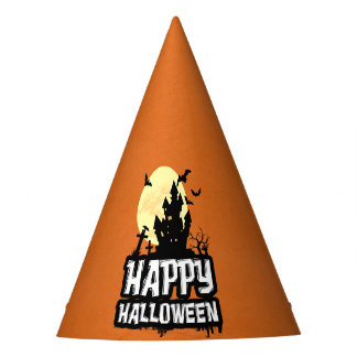 Happy Halloween Party Hat