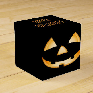 Happy Halloween Party Treat Box Favor Box
