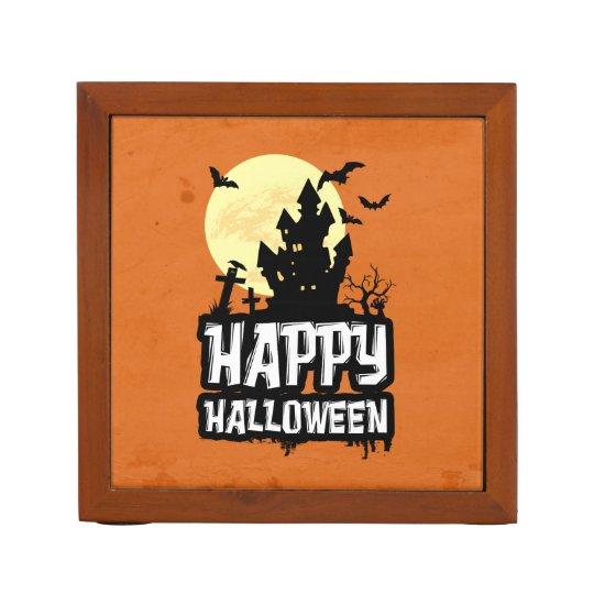 Happy Halloween Pencil Holder