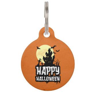 Happy Halloween Pet ID Tag