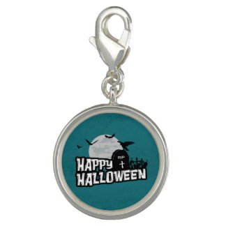 Happy Halloween Photo Charm
