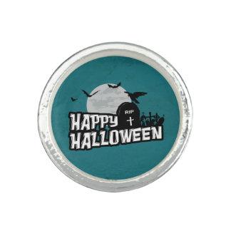 Happy Halloween Photo Ring