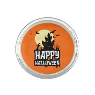 Happy Halloween Photo Rings