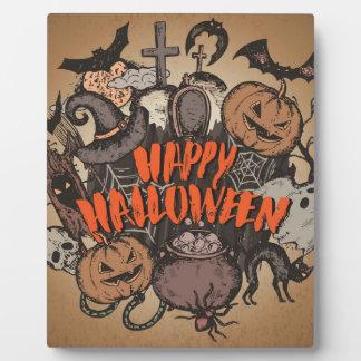 Happy Halloween! Plaque