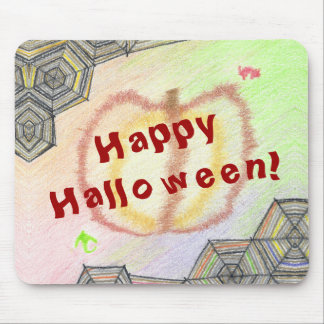 Happy Halloween! Playful Colorful Mousepad