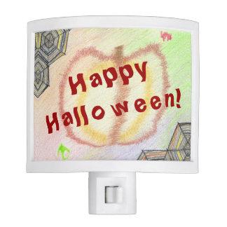 Happy Halloween! Playful Colorful Nightlight Nite Lights