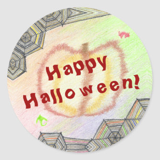 Happy Halloween! Playful Colorful Stickers