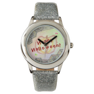 Happy Halloween! Playful Colorful Watch