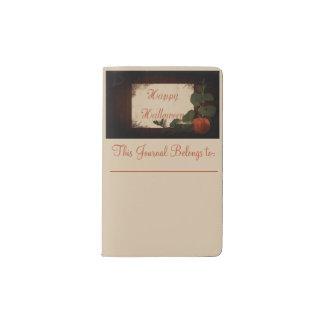 Happy Halloween Pocket Moleskine Notebook
