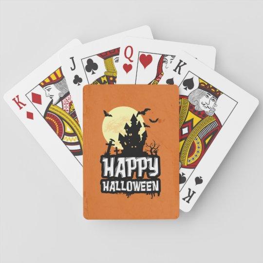 Happy Halloween Poker Deck