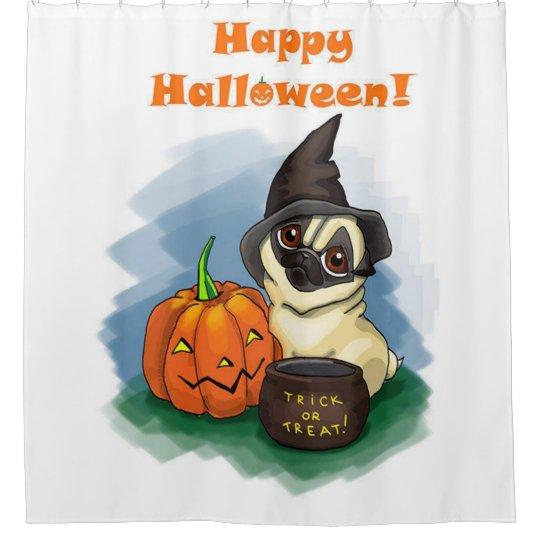 Happy Halloween Pug