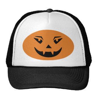Happy Halloween Pumpkin Face Hats