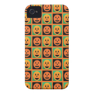 Happy Halloween pumpkin faces iPhone 4 Case-Mate Case