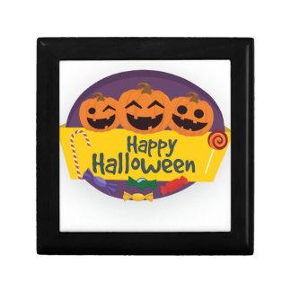 Happy Halloween Pumpkin Gift Box