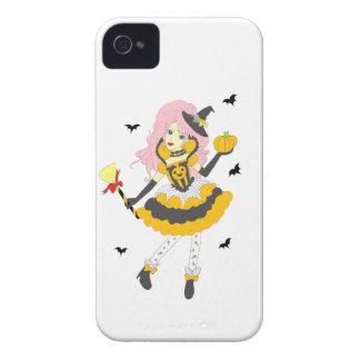 Happy Halloween Pumpkin Girl Blackberry Bold Covers