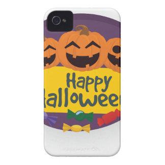 Happy Halloween Pumpkin iPhone 4 Covers