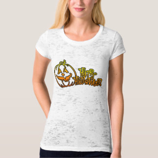 Happy Halloween Pumpkin Jackolantern T-Shirt