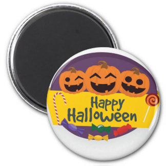 Happy Halloween Pumpkin Magnet