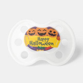Happy Halloween Pumpkin Pacifier