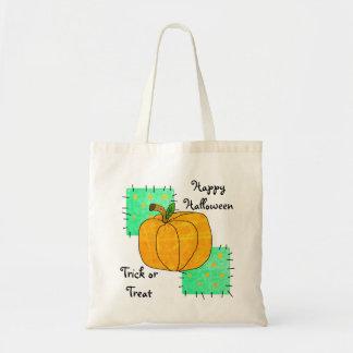 Happy Halloween Pumpkin Patch Tote Bag