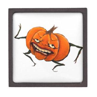 happy halloween pumpkin premium gift box