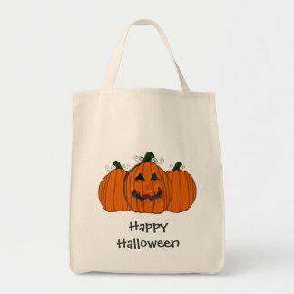 Happy Halloween Pumpkin Tote Bag